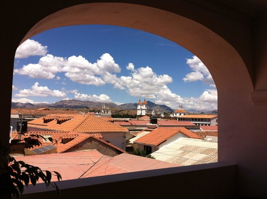 Parador Santa Maria la Real: Just one of many spectacular views