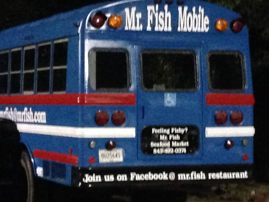 Mr. Fish: The Mr Fish Bus