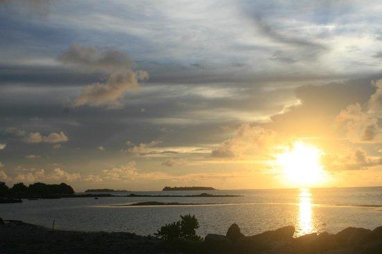 Arora Inn: solnedgang