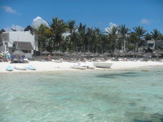 Veranda Palmar Beach : beach from the sea