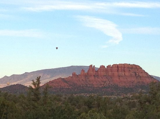 Sedona Summit Resort: view from our patio...