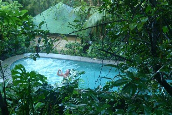 Hotel Moana: vue d'en haut de la piscine