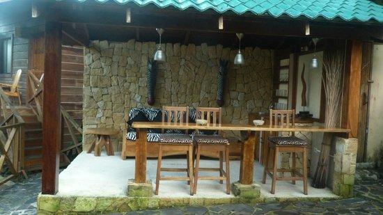 Hotel Moana: bar de la piscine