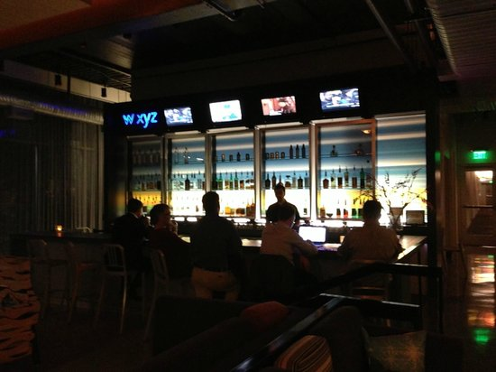 Aloft Tempe: WXYZ Bar in the lobby