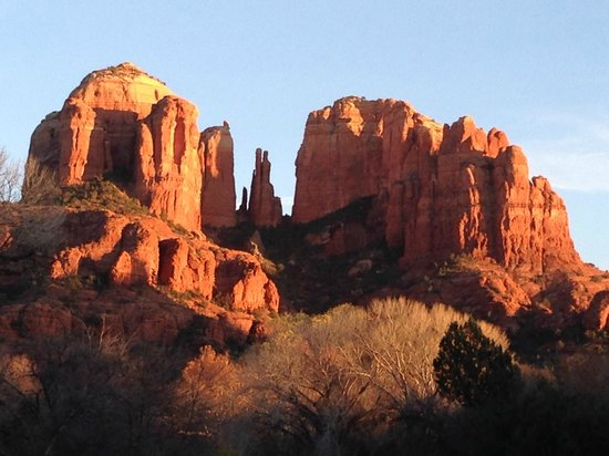 Cathedral Rock : view from the park...