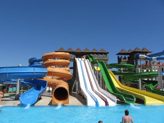Eftalia Aqua Resort: Aqua park.