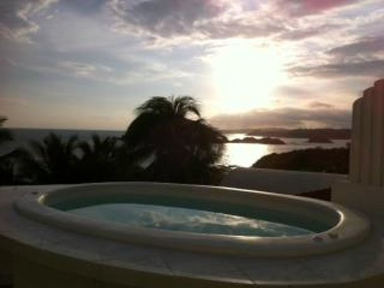 Villas Fa-Sol: View from Jacuzzi