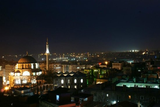 Laleli Gonen Hotel : Вид с крыши