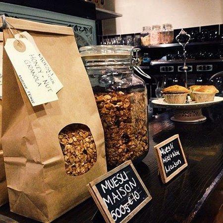 Dotty's Coffee House: muesli
