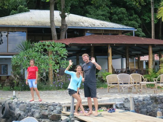NAD-Lembeh Resort : オーナー夫妻(Simon と Zee)
