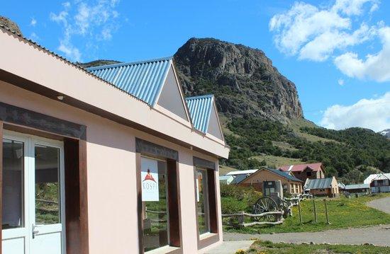 Kospi: Vista desde fuera del Hostel