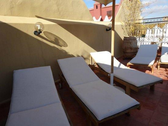 Riad Euphorbe : Seconde terrasse