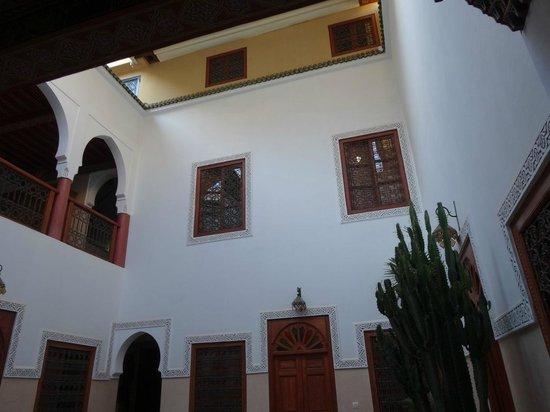 Riad Euphorbe : Vue intérieure