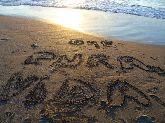 Playa Rajada: Our honeymoon