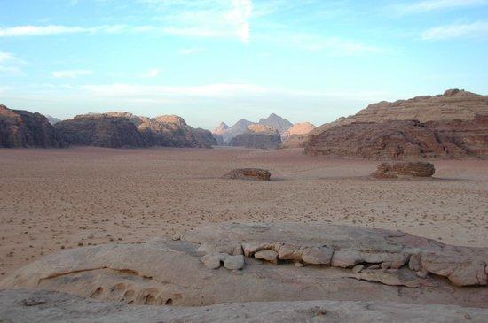 Jordan Tracks - Bedouin Camp: Desert from view point