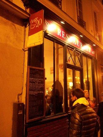 L'Ange 20 Restaurant : Esterno ristorante