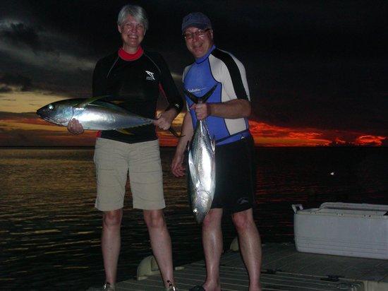 Tikehau Ninamu Resort : catching not fishing