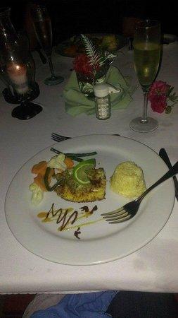 Belizean Dreams Resort : Our romantic beach cuisine