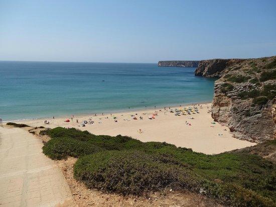 Praia do Beliche: Вид сверху