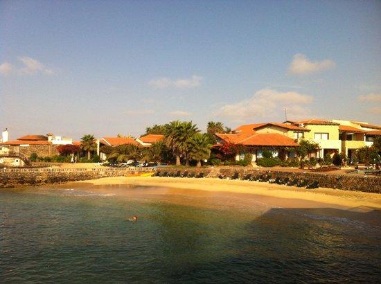 Porto Antigo Residence : Uitzicht vanaf ontbijt