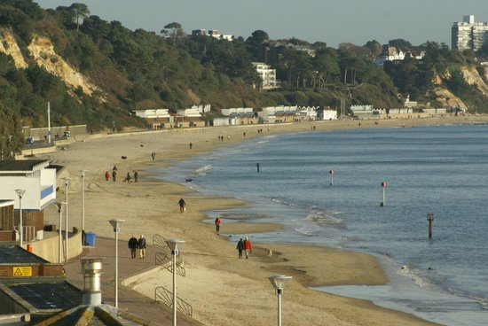 Sandbanks Hotel: View of a beautiful day in December