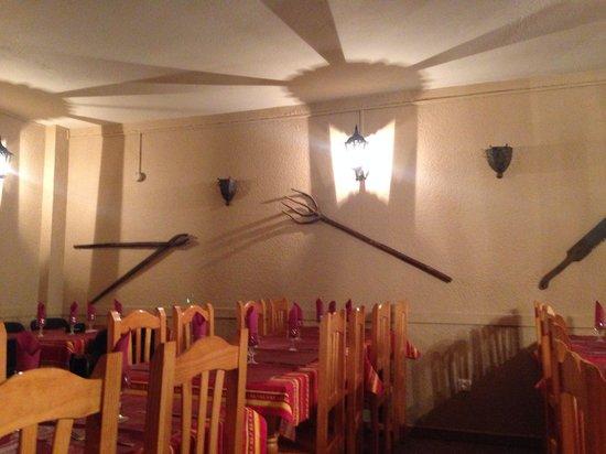 La Copa: Dining area
