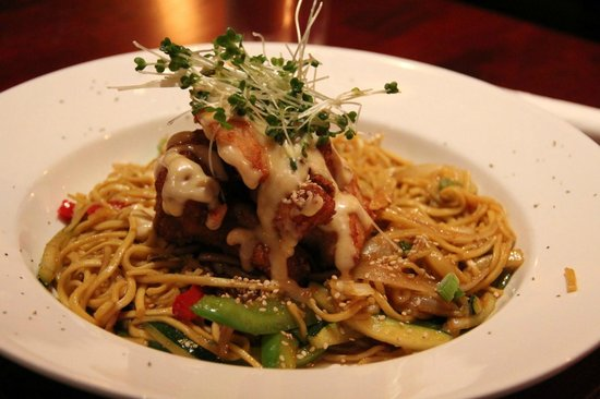 Crockets on the Quay: Chicken and Noodles