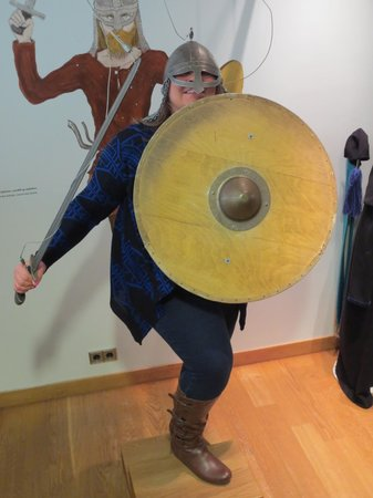 Museo Nacional de Islandia: The only fun we had in the children's area