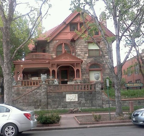 Molly Brown House Museum : Front of Home