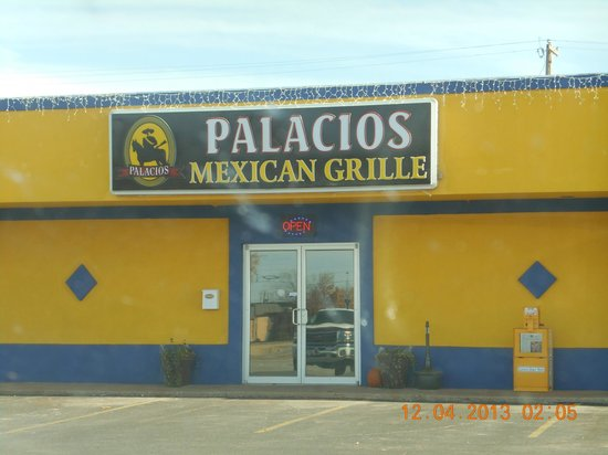 Palacios Grill: Good place to eat