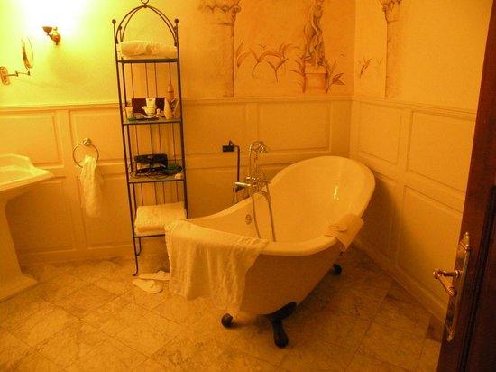 Hotel Mitzpe Hayamim: В ванной