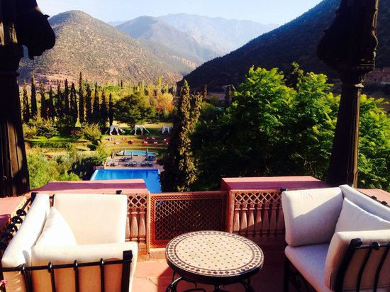 Kasbah Tamadot : Room views