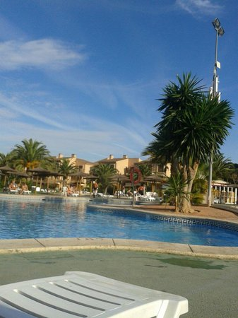 Albir Garden Resort: Pool area