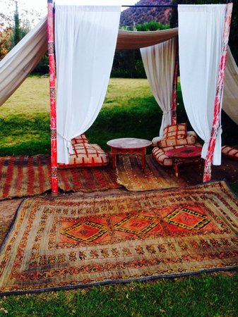 Kasbah Tamadot : Garden Tents