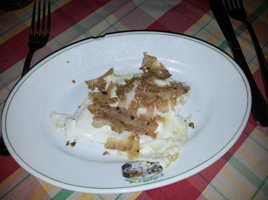 L'Angoletto ai Musei : Frittata con tartufo bianco  Non ci sono parole solo eccezionale