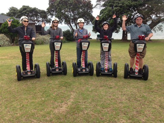 MagicBroomstick (Segway) Tours: Grandmother June is now definitely THE BEST finding Magic Broomstick Tour for her daughter and g