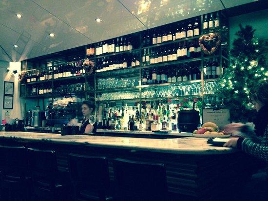 Kopapa Restaurant: The bar