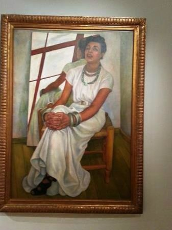 Museum of Modern Art (Museo de Arte Moderno): Museum of Modern Art: Painting of a woman by Diego Rivera