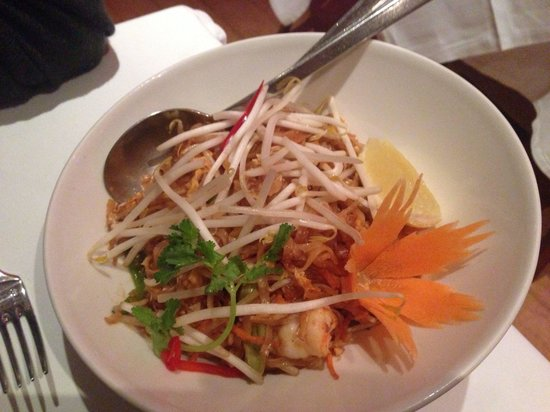 Thai Square - Putney Bridge: Pad Thai: one of the better ones I've had.  Not stodgy but could do with more nuts in my view.