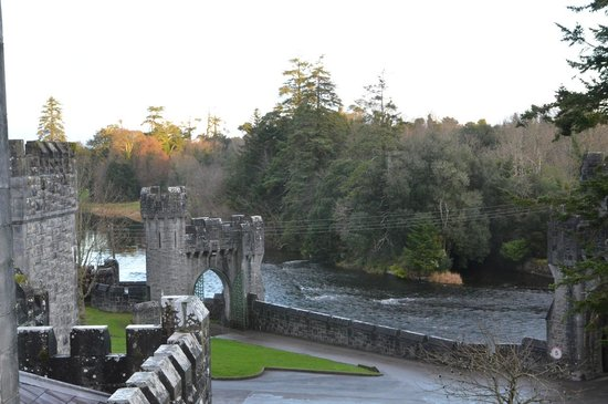 Ashford Castle: The view from room 419!