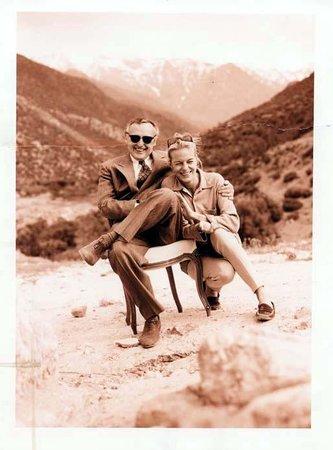 Kasbah Tamadot : Mrs Ines Stephan & Mr Dennis Hopper