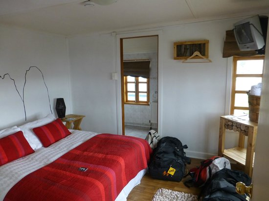 We Are Patagonia B&B: chambre matrimoniale avec douche