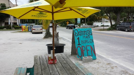 Skinny's Place Incorporated: Premium outdoor seating