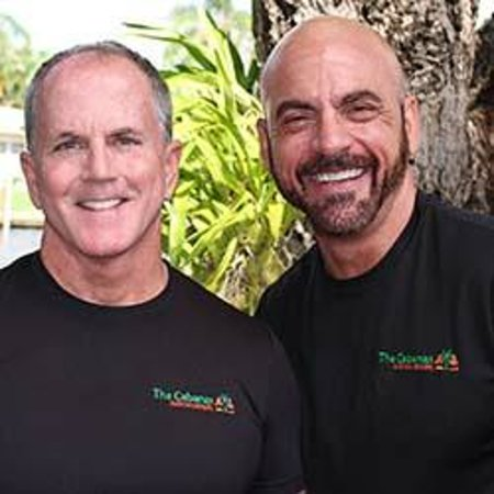 The Cabanas Guesthouse & Spa: Your Host John and Bill