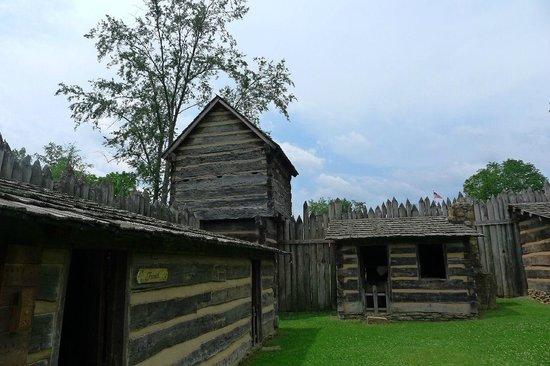 Pricketts Fort State Park : fort corner pt 2