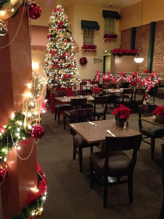 Rosine's Restaurant : Christmas decor