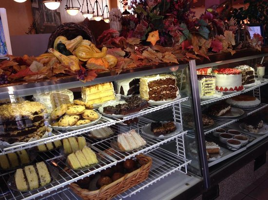 Rosine's Restaurant : dessert display