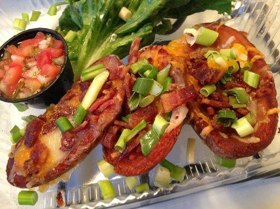 Rosine's Restaurant : potatoe skins appetizer