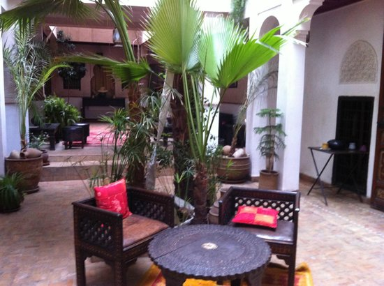 Riad Aladdin : un patio
