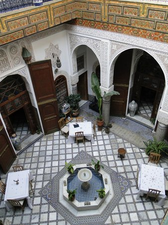Riad Sara: Patio Central